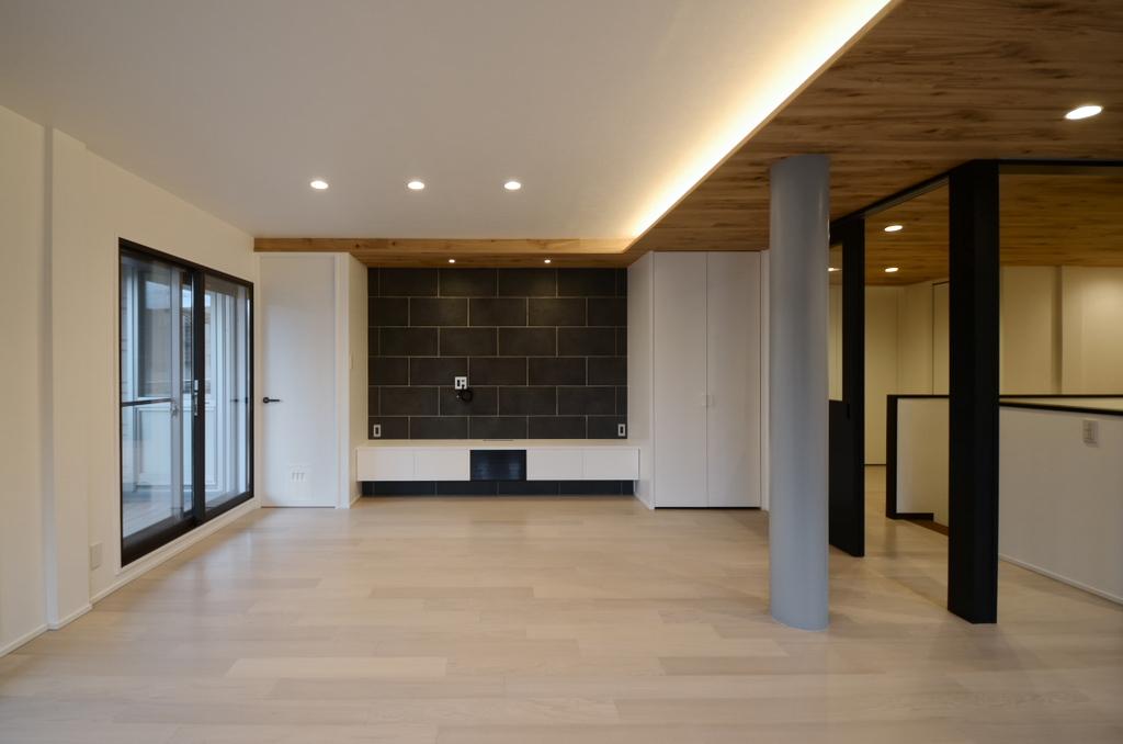 心地良い無垢板天井のある家